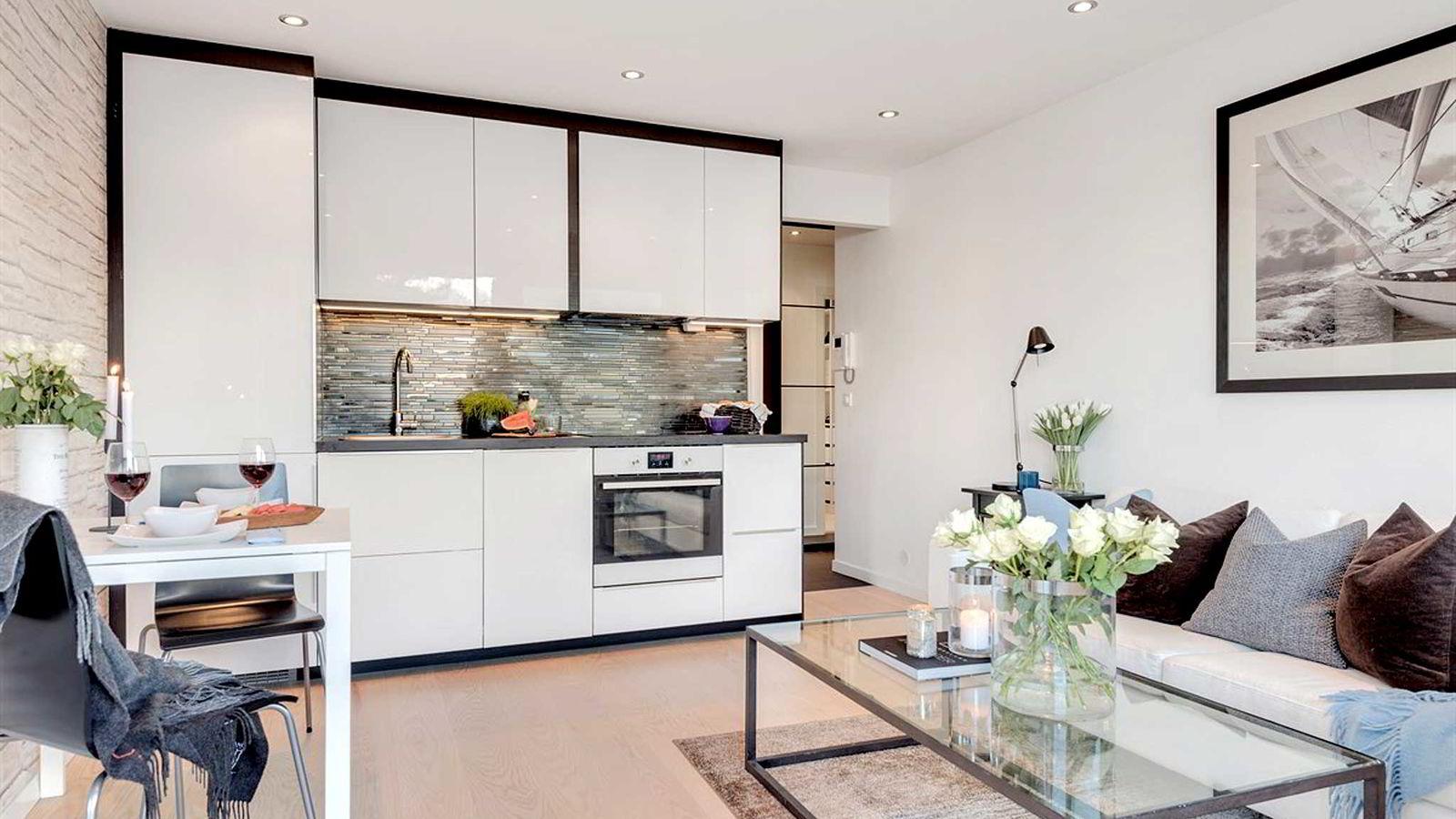 Denne leiligheten på Majorstuen ble solgt for over 100.000 kroner kvadratmeteren.