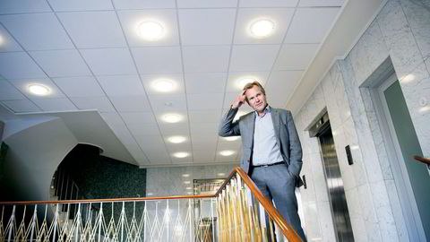 Banksjef Finn Haugan foventer at utfordringere i olje og offshore vil fortsette. Foto: Elin Høyland