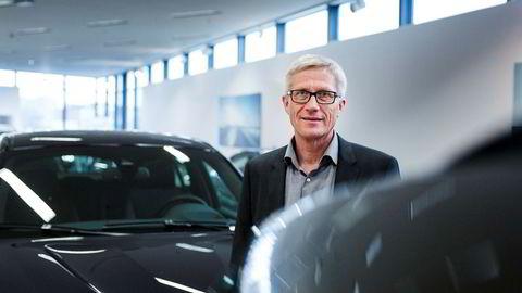 Erik Andresen i Bilimportørenes Landsforening er fornøyd med regjeringsplattformens syn på bilavgifter.