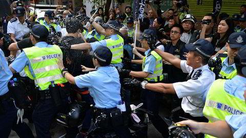 Dwet er ventet omfattende protester i Hongkong i dag.