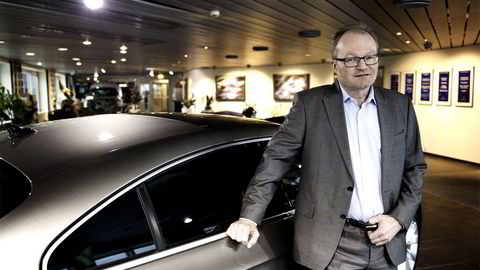 Konsernsjef Pål Syversen i Møllergruppen AS. Foto:
