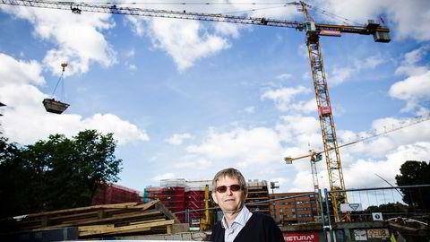 Administrerende direktør Per Jæger i Boligprodusentenes Forening mener boligprisveksten i Oslo vil fortsette.                    Foto: