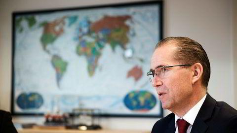 Administrerende direktør Ivar Brandvold i Fred. Olsen Energy.