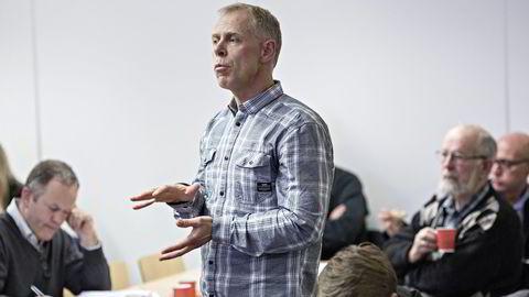 Den største aksjonøren i Mentor Medier, Jan Erik Mushom, fikk ikke flertall for sitt forslag. Foto: Aleksander Nordahl