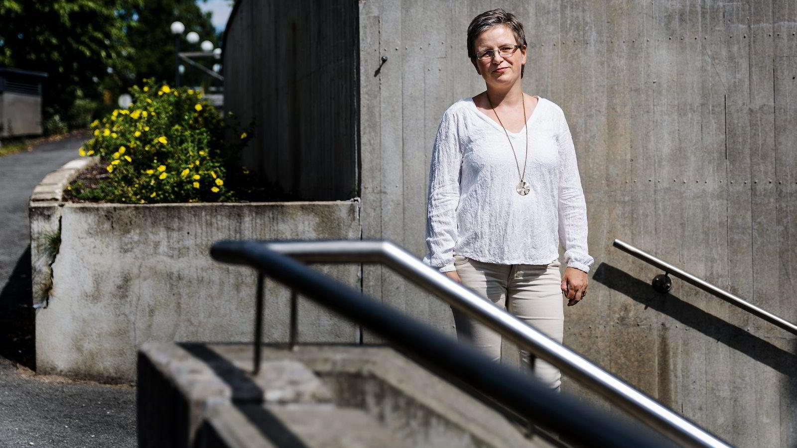 IKKE LOV: Professor Beate Sjåfjell ved UiO er ekspert på selskapsrett. Hun mener tildeling av leteområder til oljeselskaper i dette havområdet vil være grunnlovsstridig. FOTO: Per Thrana