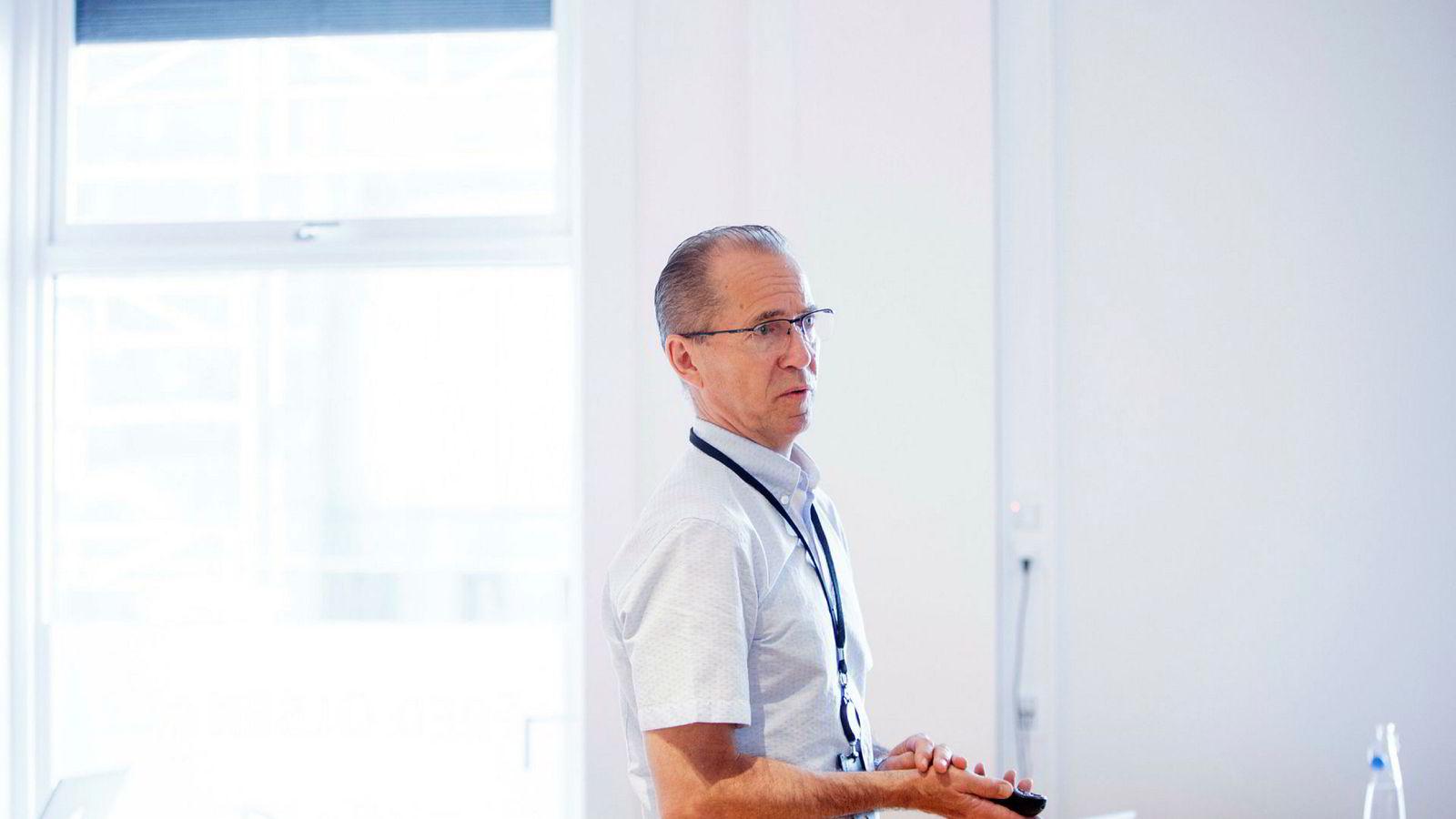 Fred. Olsen Energy-sjef Ivar Brandvold er under hardt press for å finne en løsning med selskapets kreditorer. Selskapet stanset i juli alle rente- og avdragsbetalinger.