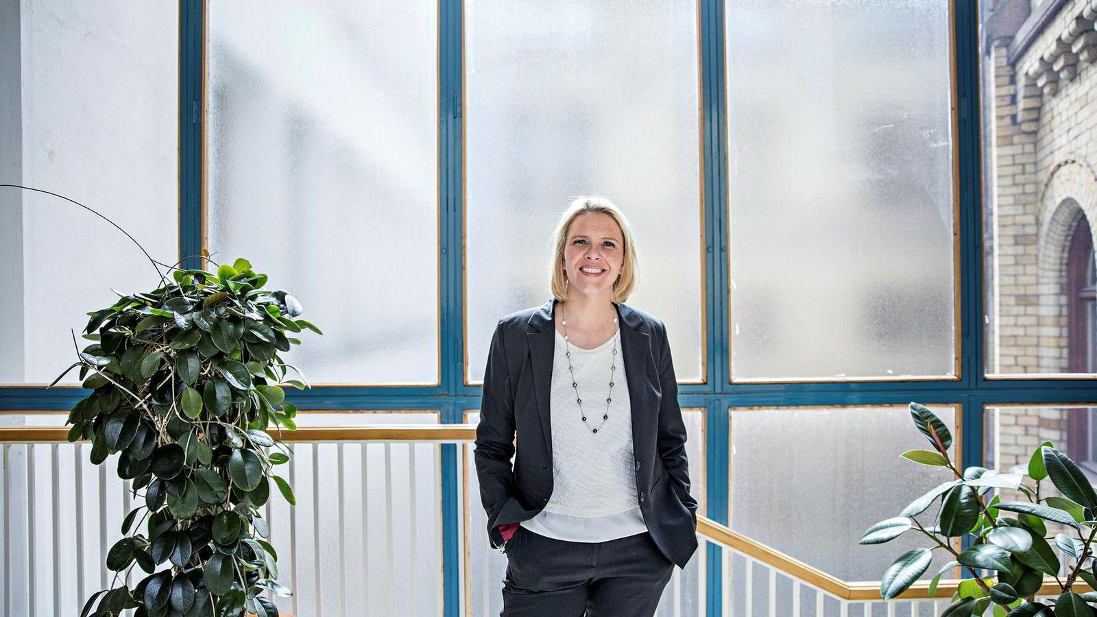 Sylvi Listhaug er favoritt til å ta over nestledervervet i partiet. Foto: Aleksander Nordahl