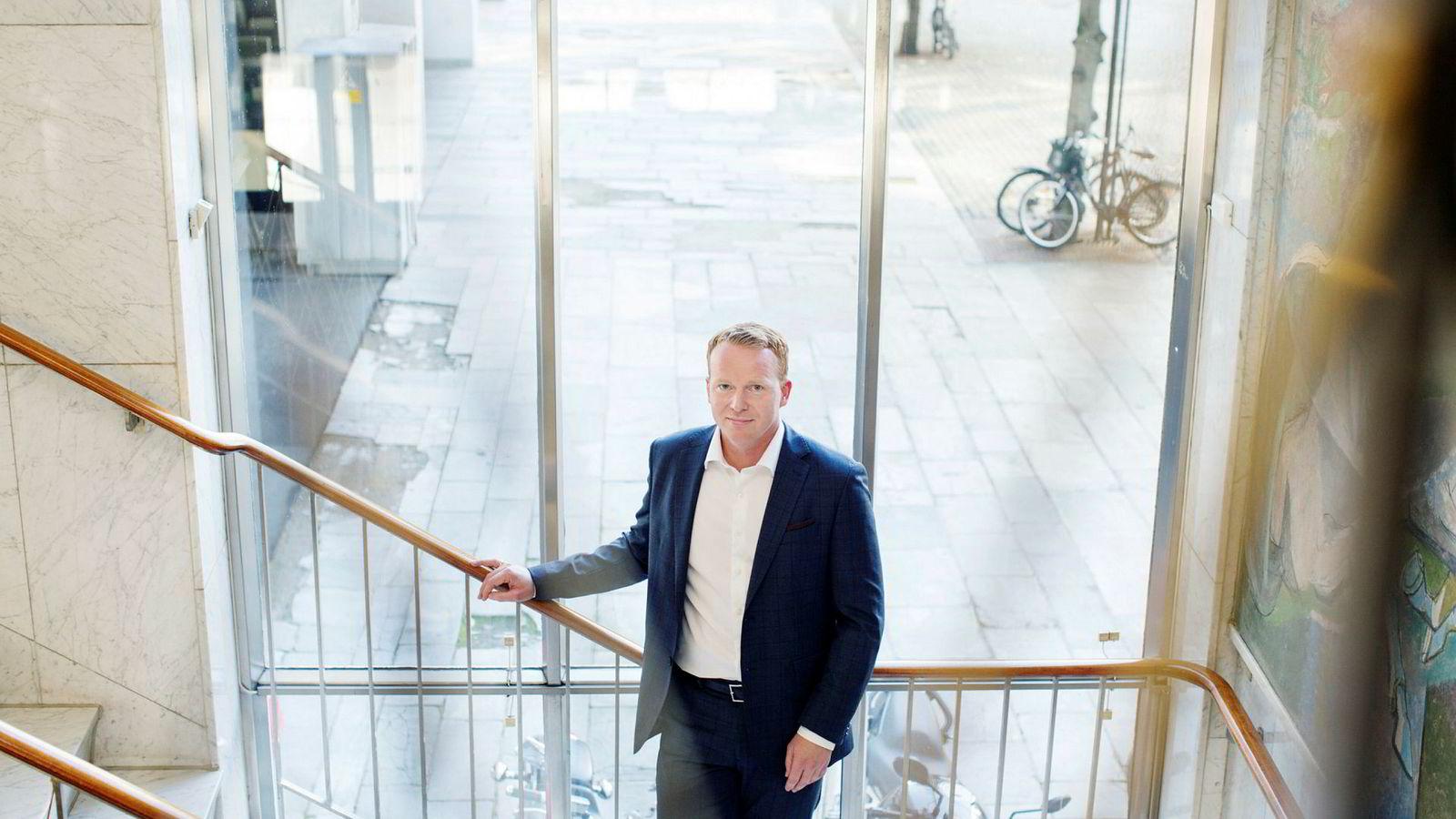 Lars-Daniel Westby, analysesjef i Sparebank 1 Markets.
