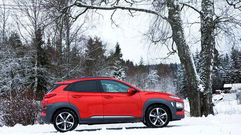 Når Hyundai Kona kommer som elbil, blir den et vanlig syn på norske veier.