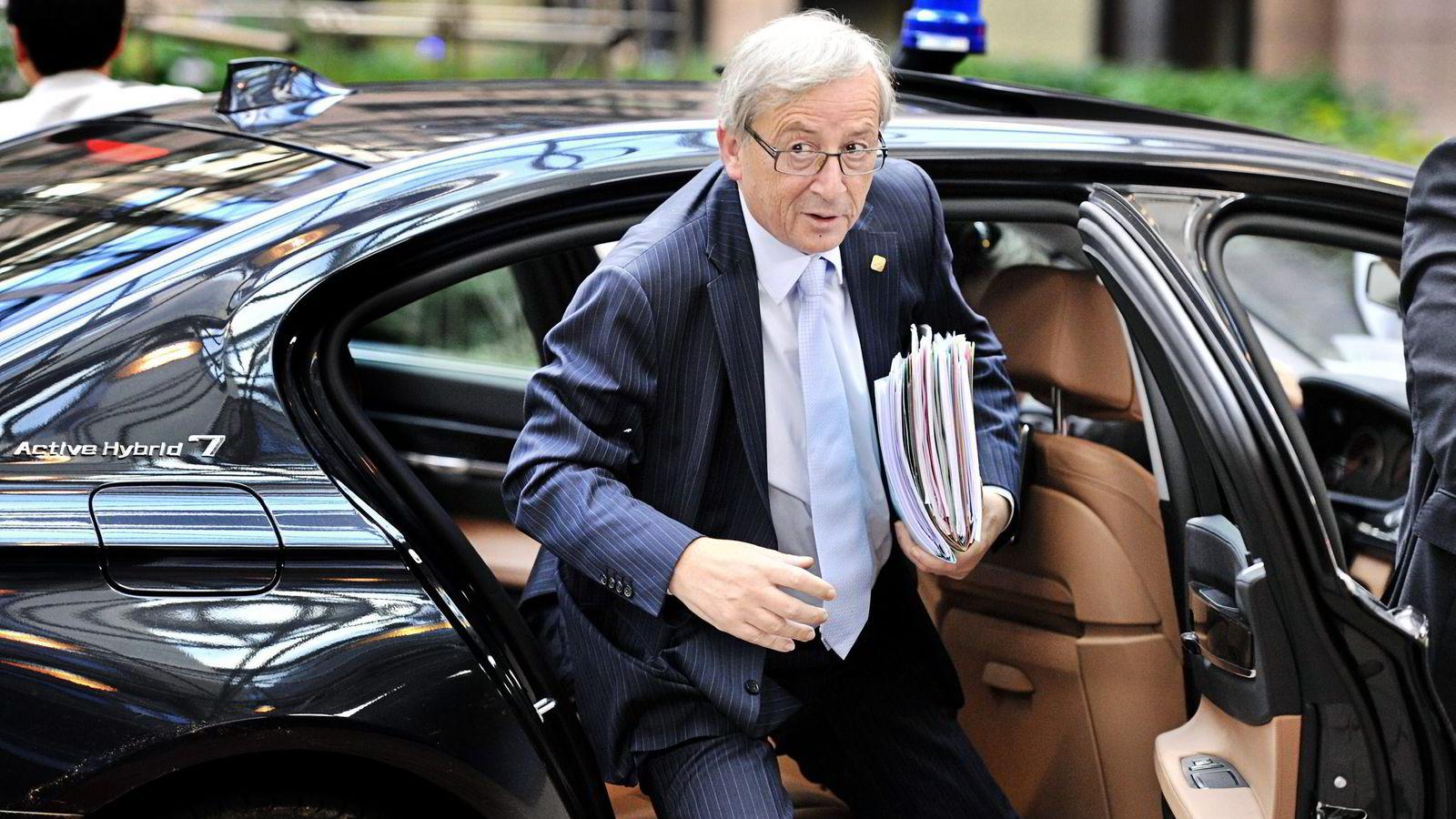 FAVORITT. Luxembourgs tidligere statsminister Jean-Claude Juncker leder kampen om å bli ny EU-president.
