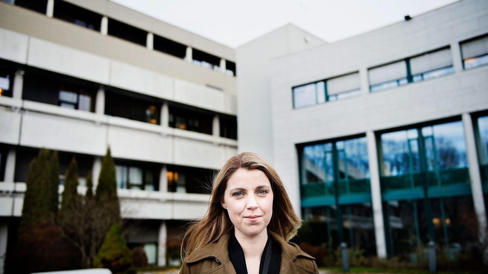 Alexandra Beverfjord, nyhetsdirektør i NRK.