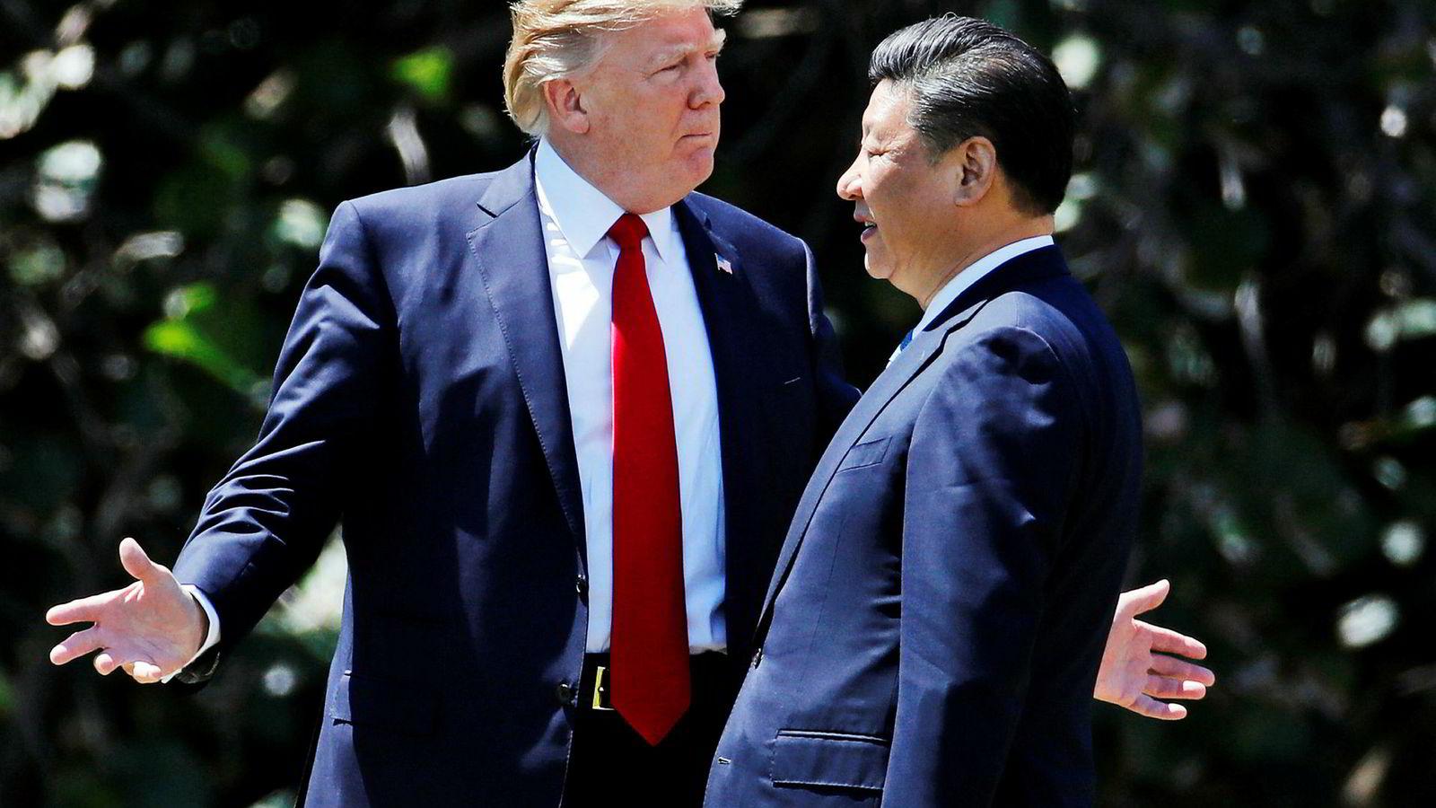 Den amerikanske presidenten Donald Trump har møtt den kinesiske presidenten Xi Jinping ved flere anledninger det siste året. Fanges dilemma viser hvorfor begge kan tape på å ikke innføre straffetoller.