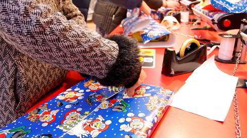 Mandag er den største julehandel-dagen Foto: Gunnar Lier