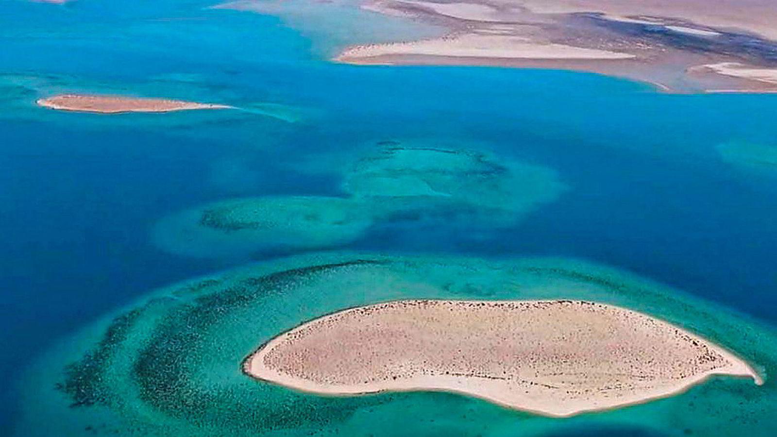 Red Sea Project har som mål å bygge luksusresorter på en rekke øyer som tilhører Saudi-Arabia i Rødehavet.