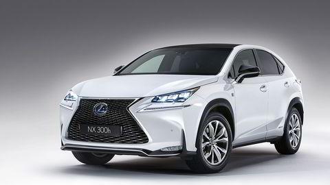 NX 300h heter den nye kompaktsuven som Lexus starter å selge til høsten. Foto: Lexus