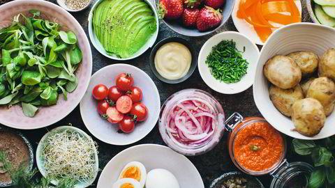 Fyller magen. Mettende pålegg – som avocado, egg og poteter – er viktig når smørbrødlunsjen blir gjort vegetarisk