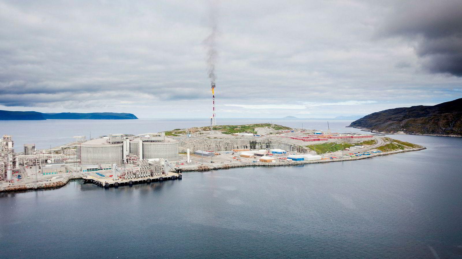 Regjeringen vil etablere havvind utenfor Melkøya, Hammerfest.
