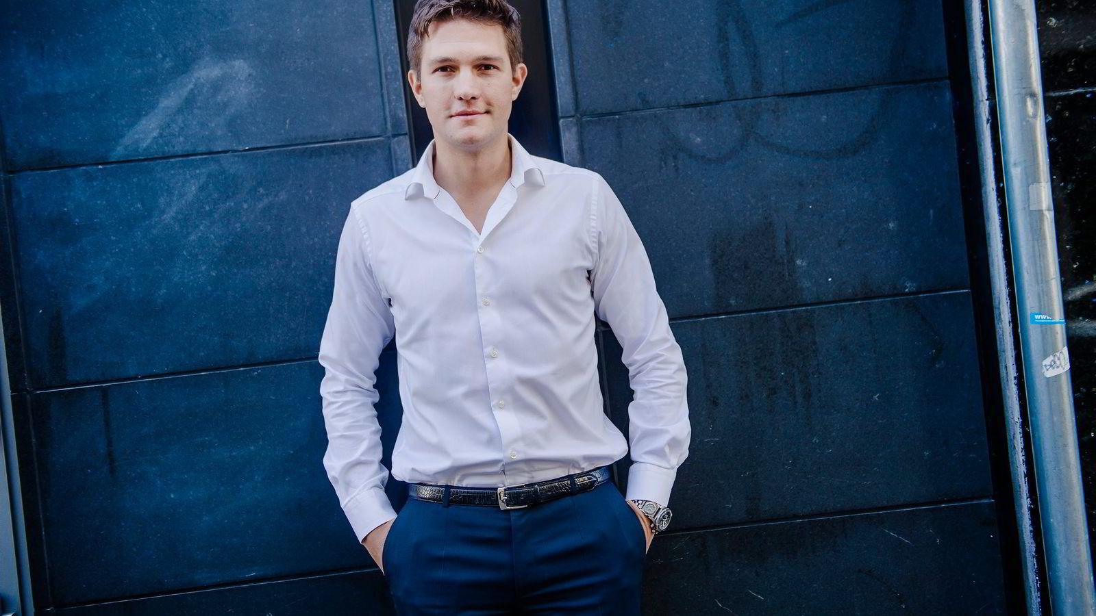 Ubers Norge-sjef Carl Endresen bekrefter avskiltningene. Foto: Hampus Lundgren
