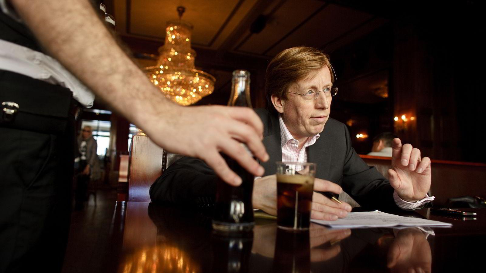 Hansa Borg-sjef Lars A. Midtgaard snapper opp en større andel i nok et norsk mikrobryggeri, denne gang i Trondheim. Her er toppsjefen i et foto fra 2009.