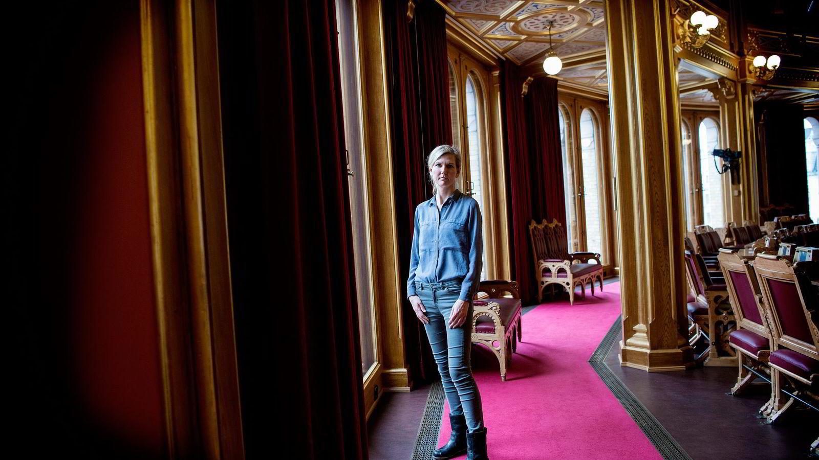 Avviser brede formuesskattekutt. Aps finanspolitiske talskvinne Marianne Marthinsen