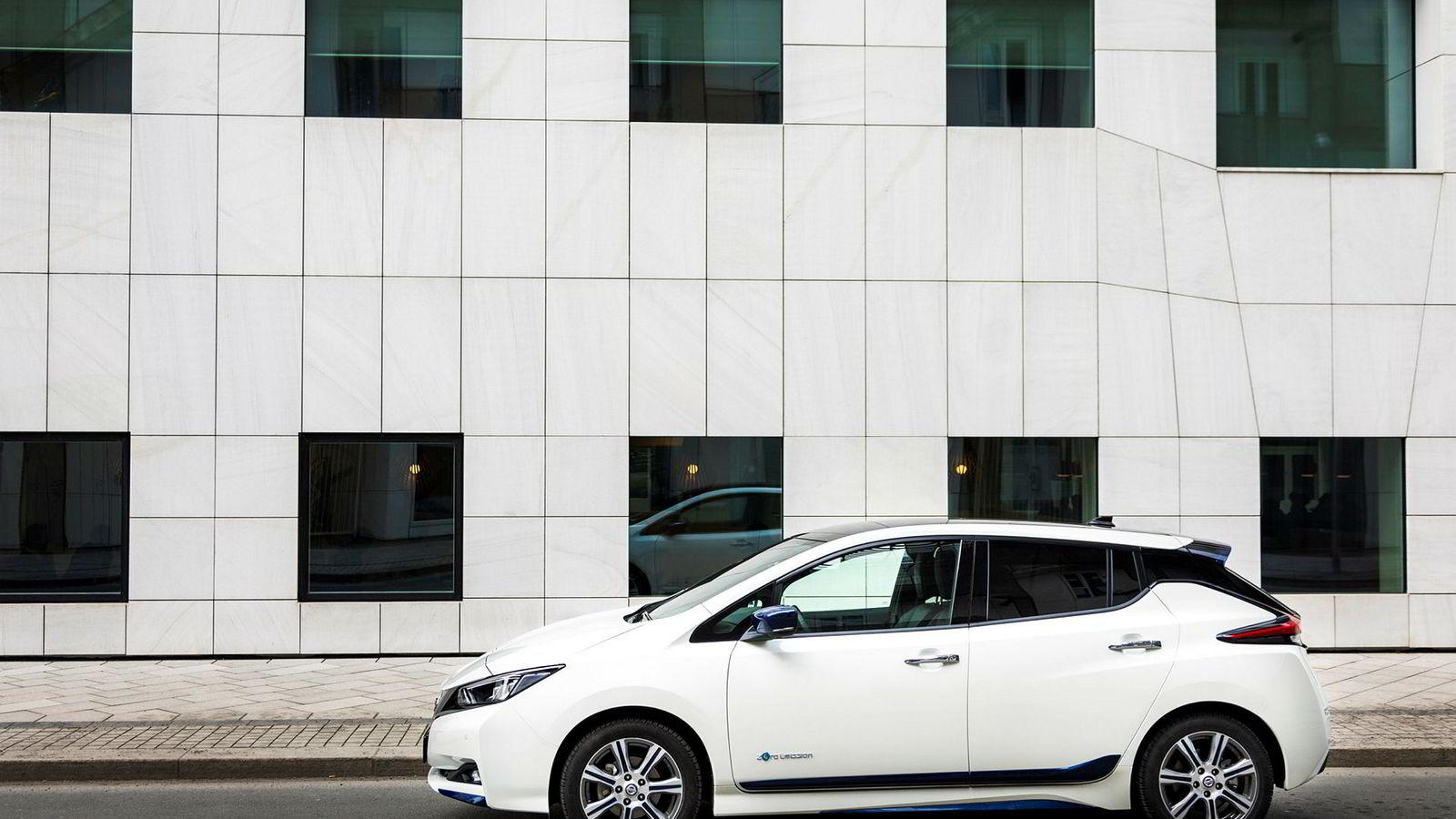 Nissan Leaf ble Norges mest kjøpte bilmodell.