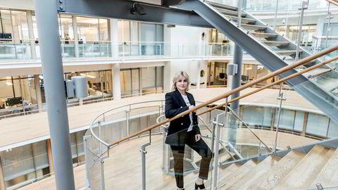Ferd-arving Katharina G. Andresen starter snart i deltidsjobb hos Innovasjon Norge. Foto: Gorm K. Gaare