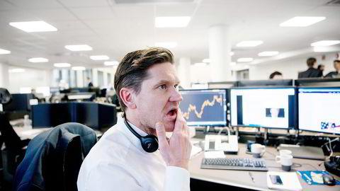Sjeføkonom Kjetil Olsen er ganske sikker på at prisene er på vei ned. Foto: Foto: Mikaela Berg