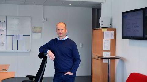 Oddgeir Løken, daglig leder i Kirkesundet Kraft, satset som Einar Aas på tyske og nordiske kraftpriser og fikk full uttelling.