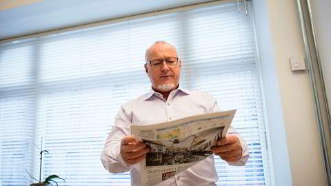 Generalsekretær Rune Hetland i Landslaget for lokalaviser.