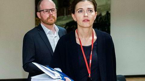 VG ledes av sjefredaktør Gard Steiro og nyhetsredaktør Tora Bakke Håndlykken.