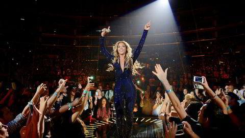 Megastjerne. Siden solodebuten i 2003 har Beyoncés popularitet vokst inn i himmelen, og hun er en garantist for fulle stadiontribuner i USA og Europa.