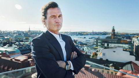 – Det vestsvenske næringslivet går som en kule, og Göteborg vokser i alle retninger, sier investor Petter Stordalen. Her avbildet i Stockholm.