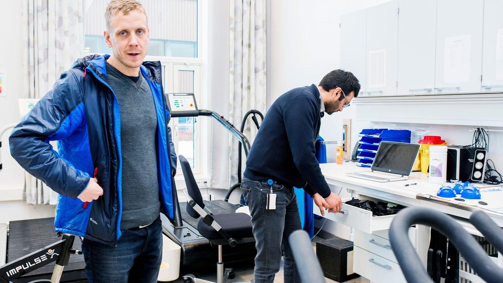 Forskerne Bjarne Martens Nes og Javaid Nauman ved NTNU har deltatt i utviklingen av PAI.