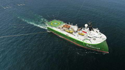 Seismikkselskapet Polarcus varsler på forhånd et svakt fjerde kvartal. Her er skipet Polarcus Naila.