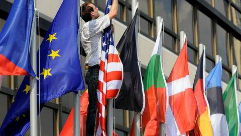 EU kan tjene stort hvis det skulle bli en full handelskrig mellom USA og Kina, ifølge ny FN-rapport.