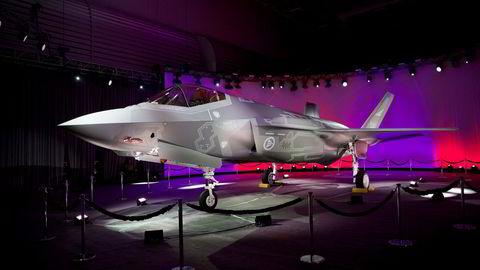 Tyrkia risikerer å bli kastet ut av F-35-programmet. Bildet viser det første norske F-35 jagerflyet.