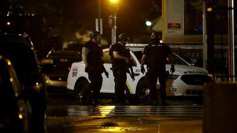 Seks politifolk er skutt i Philadelphia.