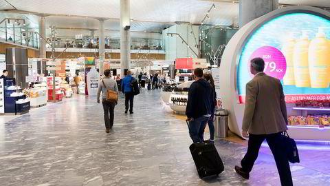 Taxfree på Oslo Lufthavn Gardermoen.