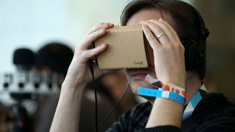Google Cardboard var først ut med VR-briller i papp. Foto: