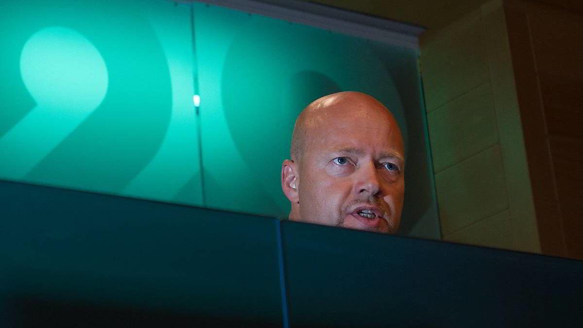 Oljefondsjef Yngve Slyngtad avviser honnorarkritikken fra Riksrevisjonen.