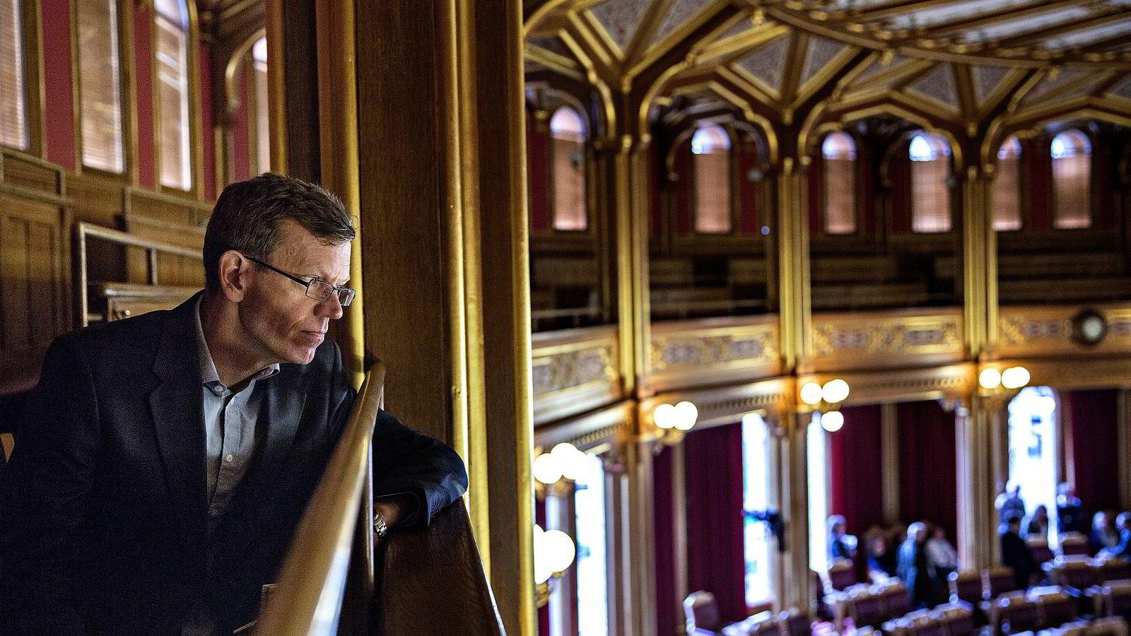 DN-kommentator Kjetil B. Alstadheim fikk mandag Den store journalistprisen.