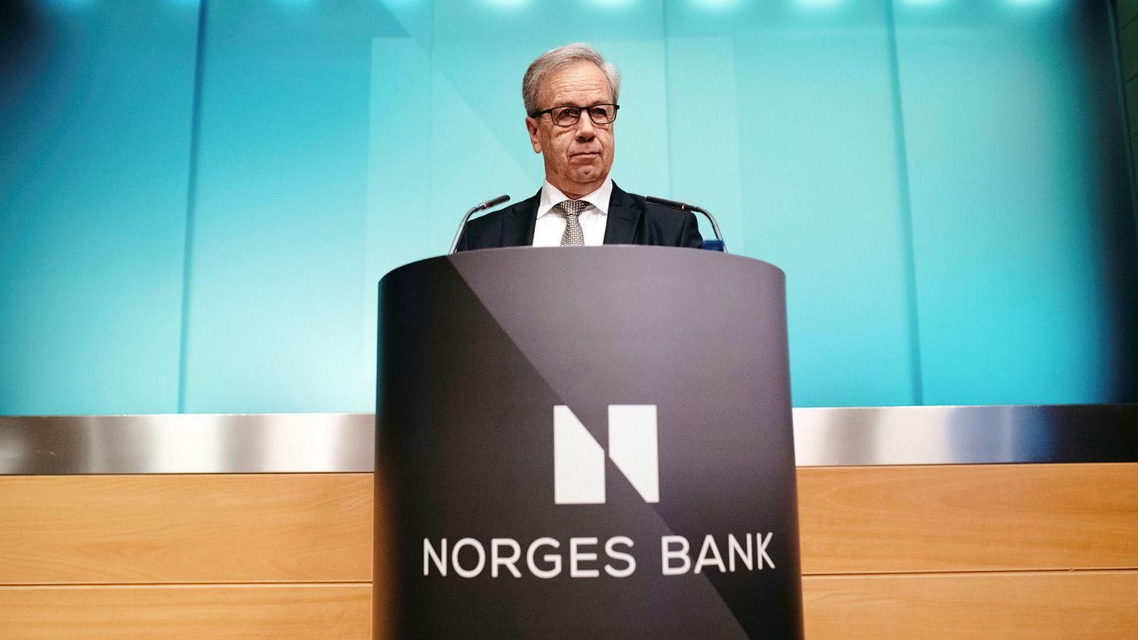 Torsdag formiddag la Norges Bank frem deres rentebeslutning for mai. Dette rentemøtet var kun et mellommøte, uten ny økonomisk rapport og pressekonferanse.