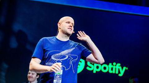 Svenske Daniel Ek grunnla Spotify.