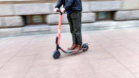 El-sparkesykler fra utleieselskaper inntok norske byer for første gang denne våren.