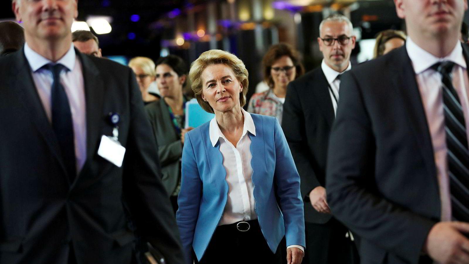 Ursula von der Leyen (60) blir ny kommisjonsleder. Hun er politisk handlekraftig og erklært føderalist.