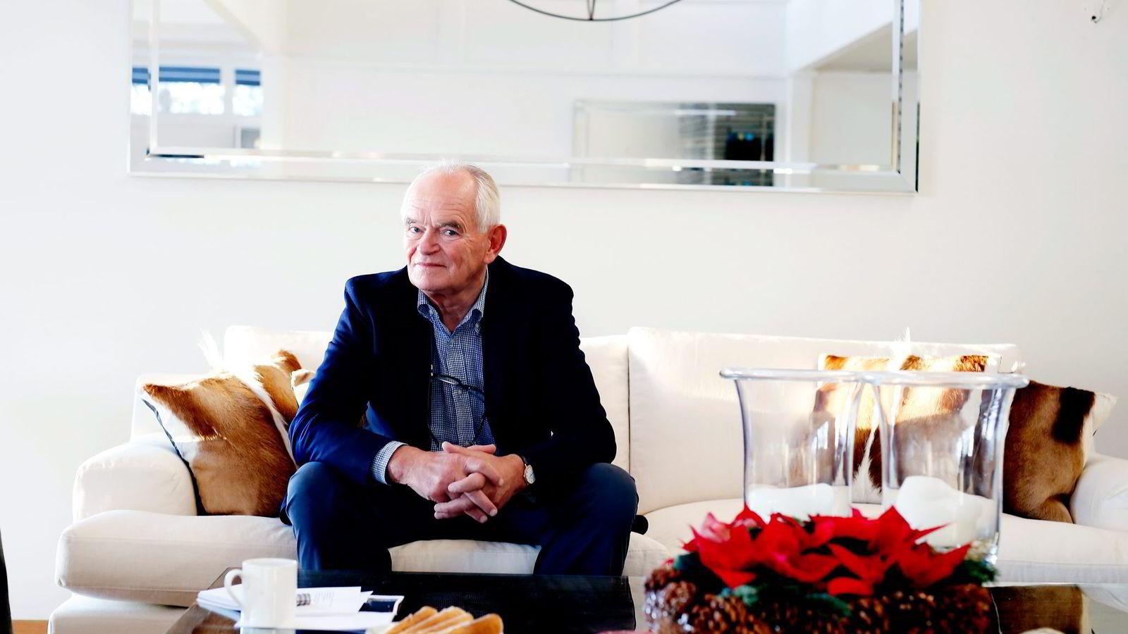 De hadde ikke hatt kontakt siden 1982 da Trond Mohn plutselig overførte 100 millioner kroner til sin tvillingbror Stein Mohn. Foto: Kristin Svorte