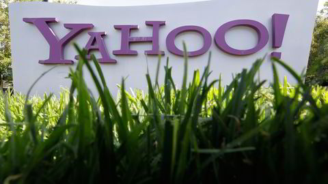 Yahoo-brukere ble utsatt for omfattende hacking i 2014. Foto: Paul Sakuma/AP/NTB scanpix