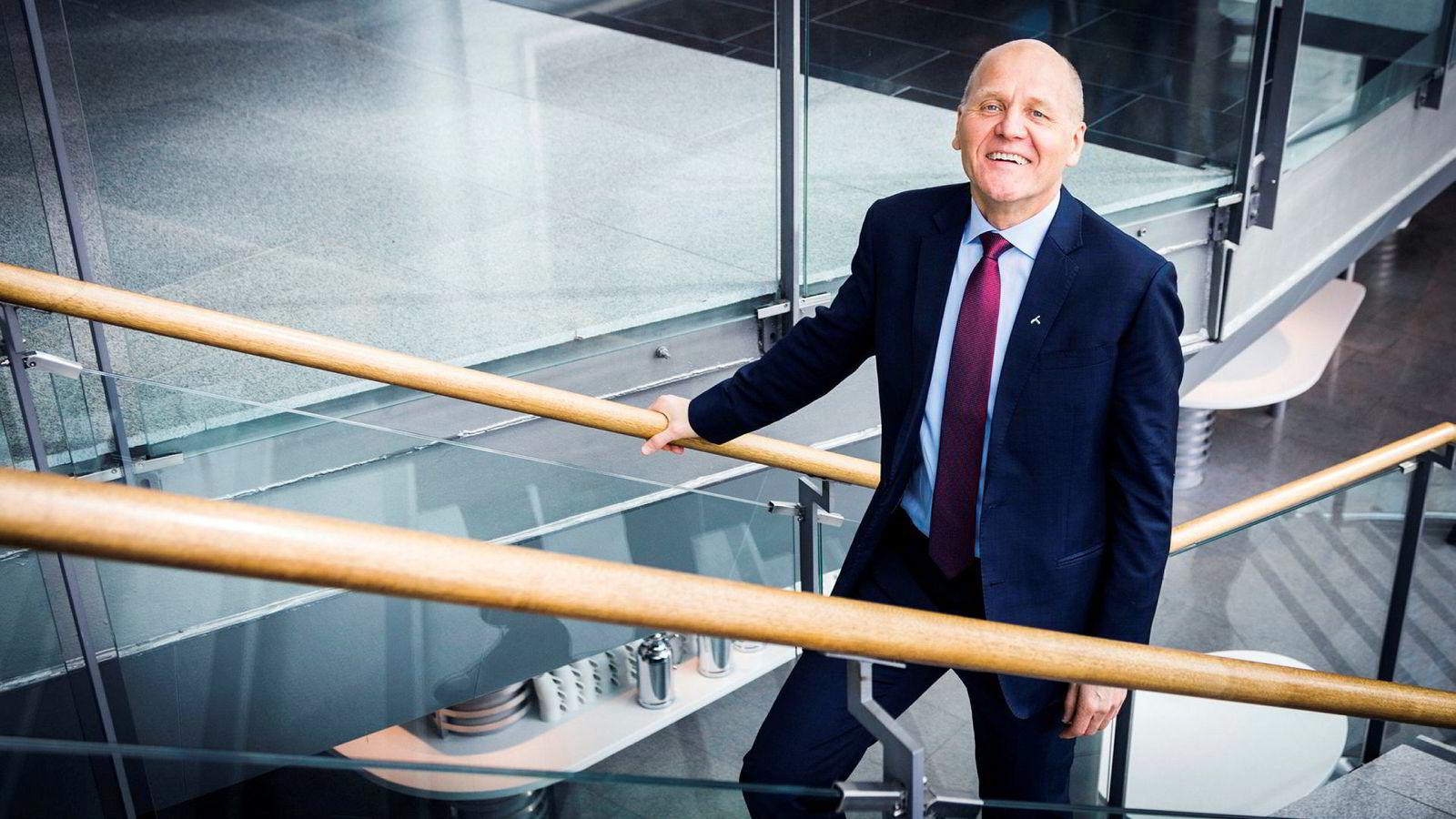 – Det har vært en ganske tøff periode de siste tre årene med usikkerhet, sier Sigve Brekke, konsernsjef i Telenor.