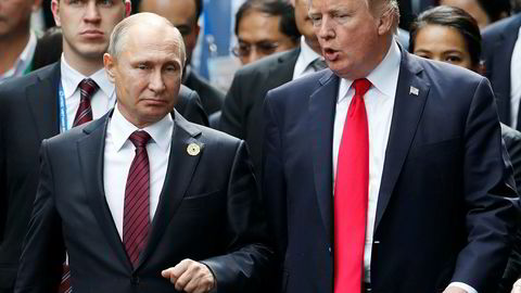 De to presidentene skal etter planen møtes i Helsingfors mandag førstkommende, 16. juli.