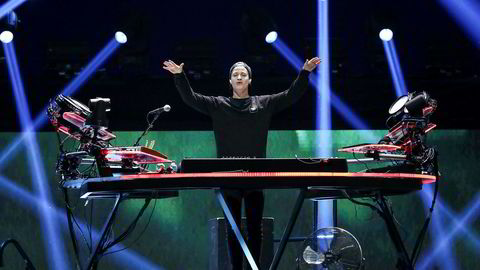 Kygo under iHeartRadio-festivalen i september i Las Vegas.